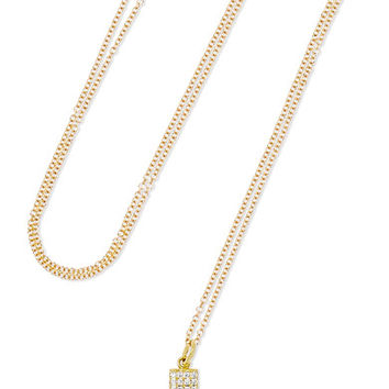 Jennifer Meyer - 18-karat gold diamond necklace