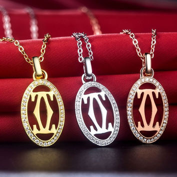 New Arrival Super Star Style SONA Synthetic Diamond Engagement Pendant Necklace Best Party invitation Accessories