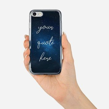 Personalized Custom Name Star Sky Case Cover for iPhone 6/6s, 6 Plus/6s Plus, 7/ 8, 7 Plus/8 Plus, X/XS, XS Max