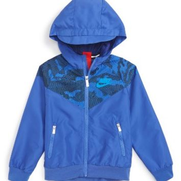 Nike Windrunner Hooded Jacket (Little Boys) | Nordstrom