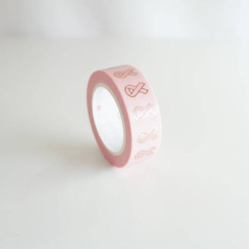 PRESALE*** - Breast Cancer Awareness month ribbon washi tape