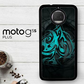 Blue Ace Of Spades R0103  Motorola Moto G5S Plus Case