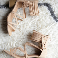 Lucille Strappy Heel