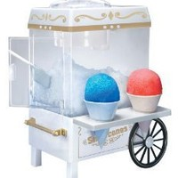 Nostalgia Electrics SCM-502 Vintage Collection Old Fashioned Snow Cone Maker: Amazon.com: Kitchen & Dining