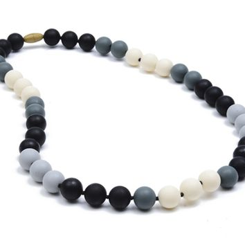 Chewbeads Bleecker Teething Necklace - Black