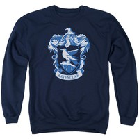 Harry Potter - Ravenclaw Crest Adult Crewneck Sweatshirt Officially Licensed Apparel