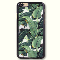 Tropical Banana Tree Leaves Protective Phone Case For iPhone 7 7 Plus case, 70085