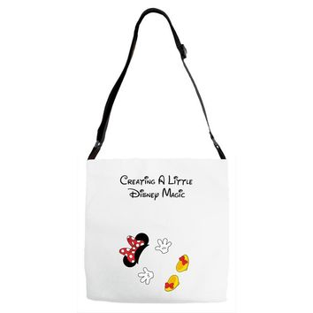 Creating A Little Disney Magic Minnie Mouse Adjustable Strap Totes