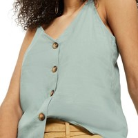 Topshop Button Through Camisole Top | Nordstrom
