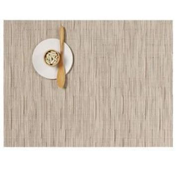 CHILEWICH Bamboo Rectangular Placemat S/4 | Oat