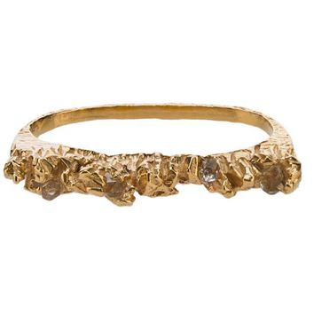 DCCKIN3 Niza Huang 'Under Earth' two finger ring