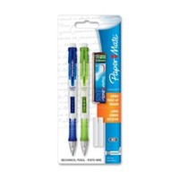 Walmart: Paper Mate Clearpoint Mechanical Pencil - 0.9 Mm Lead Size - Assorted Barrel - 2 / Pack (1759214)
