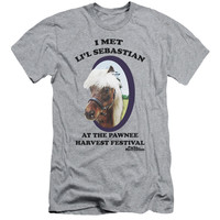 Parks & Recreation Li'L Sebastian Athletic Heather Fine Jersey T-Shirt