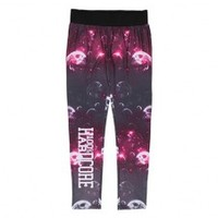 100% Hardcore ladies legging bubbles pink