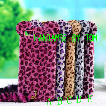 Leopard iPhone 4 case iPhone 4s case iPhone 5 case panther sumsang galaxy s2 case galaxy note 2 case cover