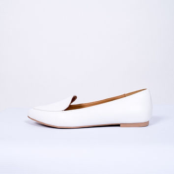 Kent White Loafer