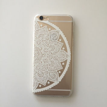 Half Floral iPhone 6  Case