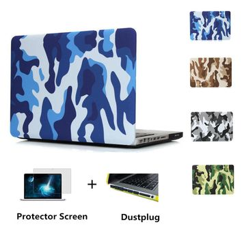 2015 Camouflage PU protective case for Mac book/laptop case protective shell for macbook air 11/13 pro 13 15 pro retina 13 15