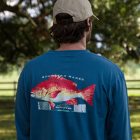 Southern Marsh Outfitter Collection - Snapper - Long Sleeve