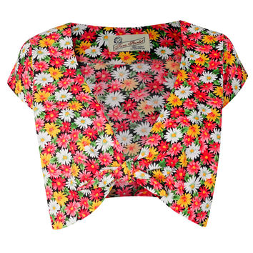 The Floral Knot Top - Daisies