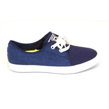 LMFUG7 Converse All Star Riff Woven Ox - Ensign Blue
