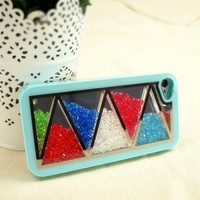 ZLYC Rhinestone Glitter Bling Bling Shake the Diamonds Case for iPhone