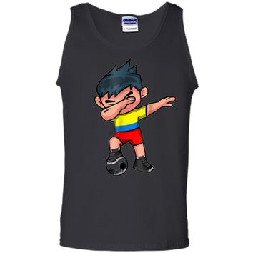 Dabbing Soccer Boy T Shirt Colombia Colombians Football