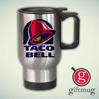 Taco Bell 14oz Stainless Steel Travel Mug