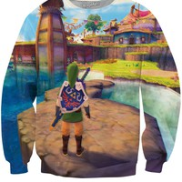 Legend of Zelda Skyward Sword Crewneck Sweatshirt