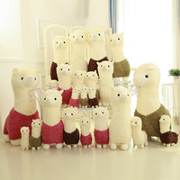Plush Toys Alpaca Mud Horse Plush Toys Children [9165923274]