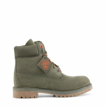 Timberland Premium-Boot Men Green Ankle boots - Oot Men Green Ankle Boots