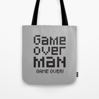 Game over man - Alien Tote Bag by g-man