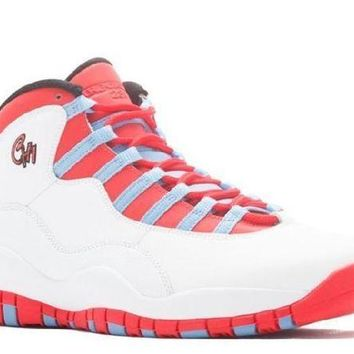 PEAPN Ready Stock Nike Air Jordan 10 Retro Chicago  Basketball Sport Shoes