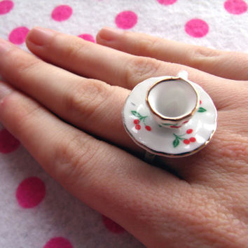 Alice in Wonderland Tea Party Ring