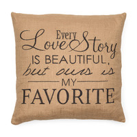 20x20 Every Love Story Pillow - Decorative Pillows - T.J.Maxx
