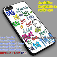 About Your Lyric | One Direction | Quotes iPhone 6s 6 6s+ 6plus Cases Samsung Galaxy s5 s6 Edge+ NOTE 5 4 3 #music #1d dl2
