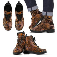 Men's Leather Boots - Steampunk Boots