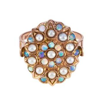 Opal and Pearl Lyla Ring