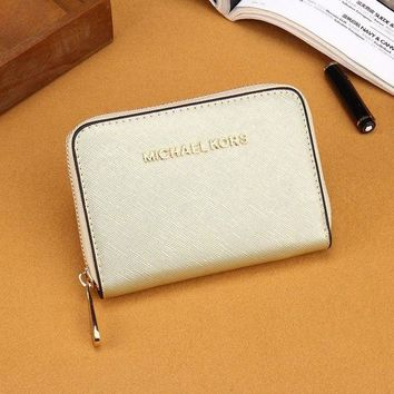 DCCKJ3V MK Women Leather Zipper Wallet Purse-11