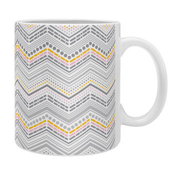 Heather Dutton Dash And Dot Neapolitan Coffee Mug
