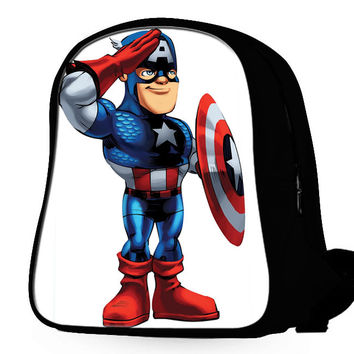 Super Hero Squad Captain America Backpack