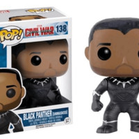 Pop! Marvel: Black Panther ( Unmasked )