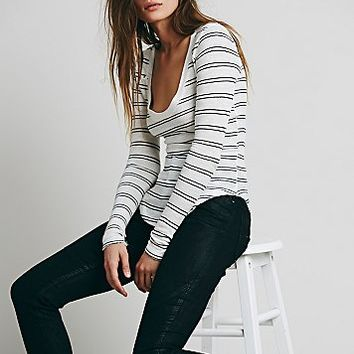 We The Free Womens We The Free Layering Me Stripe Tee