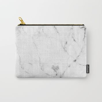 Marble Carry-All Pouch by graphsodia