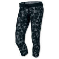 Women's Nike Printed Relay Cropped Pants