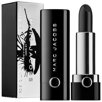 Sephora: Marc Jacobs Beauty : Collector's Edition Le Marc Lip Crème Lipstick - Blacquer : lipstick