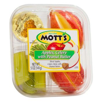 Mott's Apple Celery With Peanut Butter 5 oz