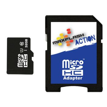 Quiksilver - Max Flash 32GB MicroSDHC Memory Card