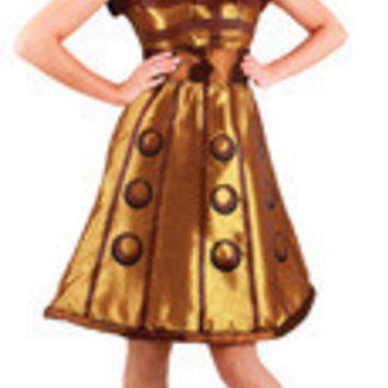 Doctor Who Dalek Dress Sm Med El404830