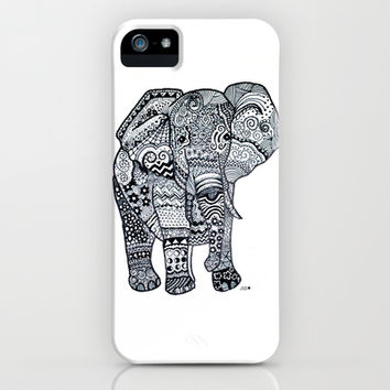 Elephant iPhone & iPod Case by Starr Shaver | Society6